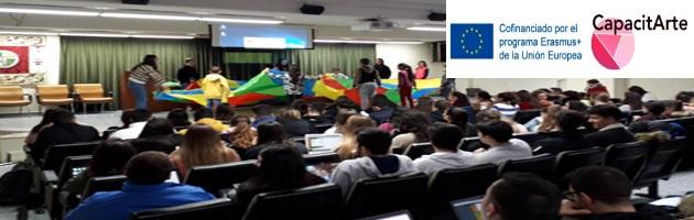 CapacitArte: Taller de Metodologías activas desde el Arte para estudiantes universitarios de Educación