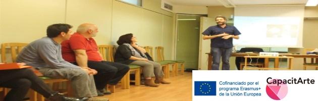 CapacitArte: Vídeo Laboratorio Artes Audiovisuales, por Philippe Cavaleri (Bélgica)