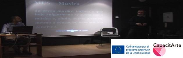 CapacitArte: Buenas prácticas desde Portugal, en un trabajo muy emotivo