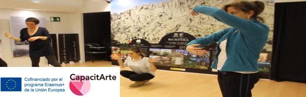 CapacitArte, desde la Danza, con Carmen Arribas