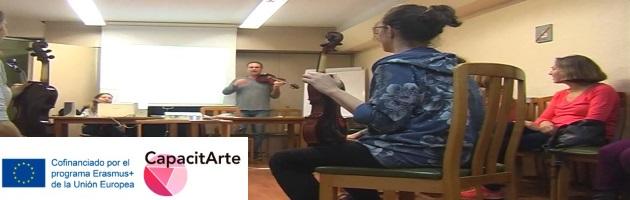 CapacitArte: Música y Artes Plásticas con C. Goldfarb, L. Lahav y Y. Adereth