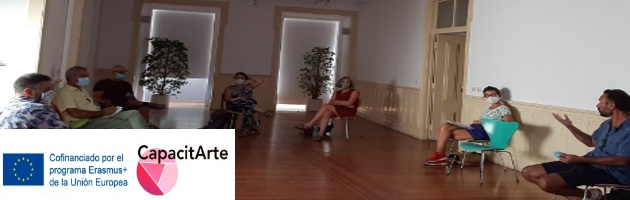 CapacitArte: en Portugal llevaron a cabo una Acción de Capacitación 'Vídeo en tiempos de confinamiento'