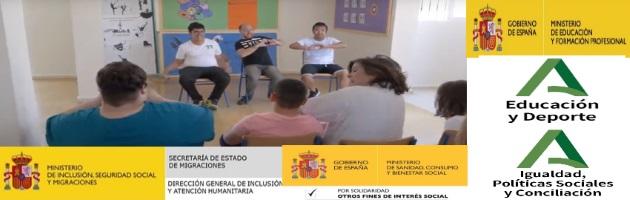 """Araceli Martos y Lolo Martín, referentes del MUS-E en el CPEEE Sana Rosa de Lima: """"El Programa en nuestro centro y para nuestro alumnado tiene sentido desde la presencialidad"""""""