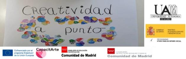 'Arte contra el coronavirus': porque tod@s contamos, tod@s participamos, tod@s creamos y María, alumna en prácticas, lo hace con 'Creatividad a punto'