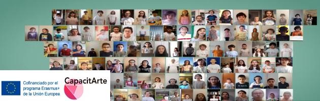 Capacitarte: 350 niños y niñas de todo MUS-E Italia cantan 'A peace to the world'