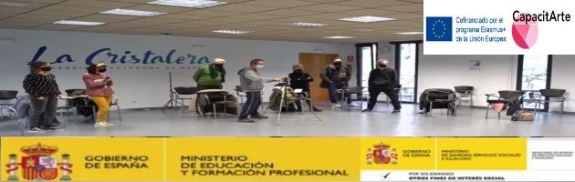 'Capacitarte': Encuentro 'Experiment-Arte Innovación MUS-E' en la Residencia La Cristalera