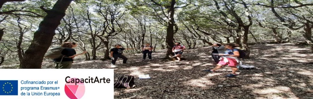 Respirar el bosque para mejorar la salud, una iniciativa de MUS-E Fermo para 'Capacitarte'