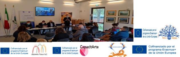 La FYME toma parte en el evento informativo Erasmus Days 'Le opportunità Erasmus Plus per le scuole'